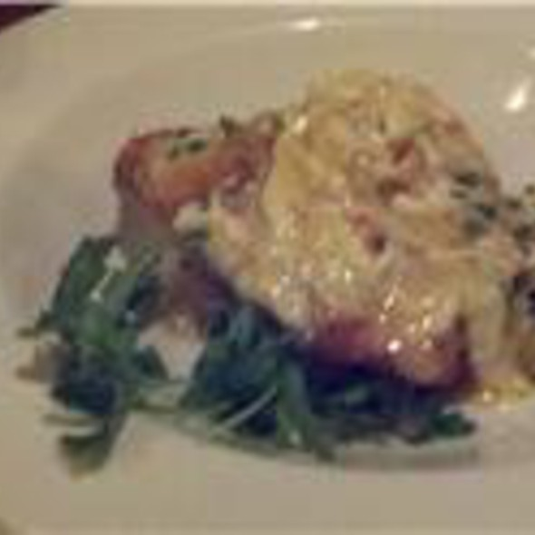 Red Snapper with Crab @ Mr B's Bistro