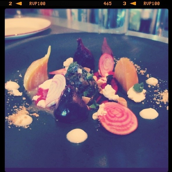 Heirloom Beet Salad @ Terra Restaurant