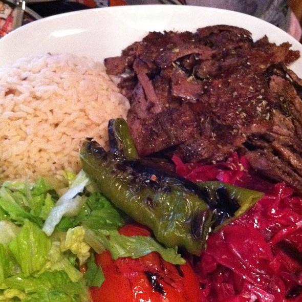 Döner Kebab - ABA Turkish Restaurant, New York, NY