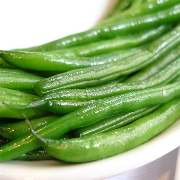 Green beans @ Brasserie Max
