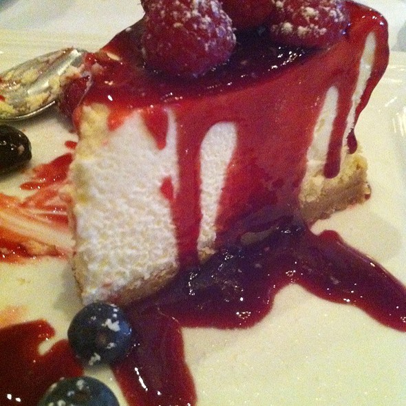 Very Berry Cheesecake at Delfriscos