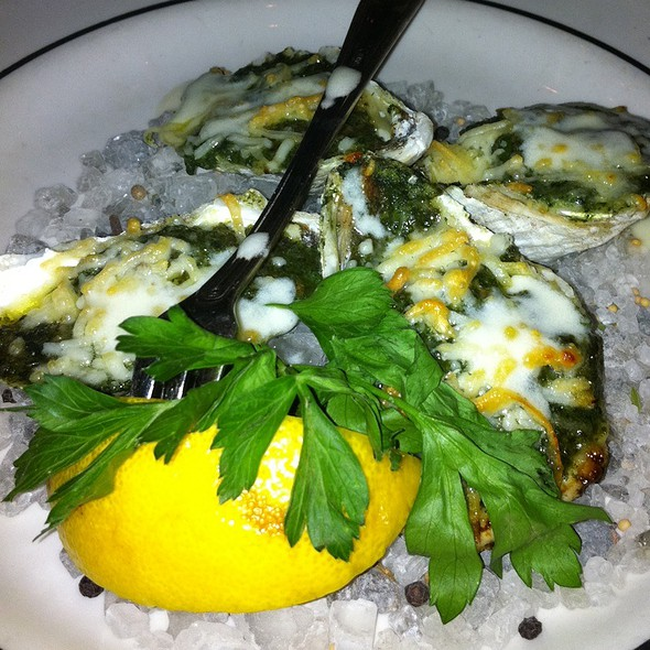 Oysters Rockefeller - Oceanaire Seafood Room - Atlanta, Atlanta, GA