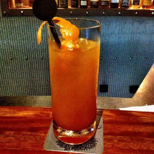Tequila Sunrise @ Basalt Bar