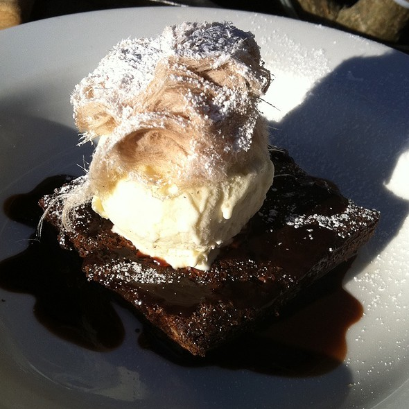 Chocolate Brownie @ The Winery
