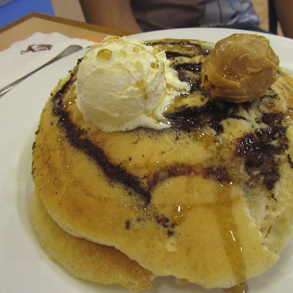 Chocolate Marble Pancake @ Pancake House