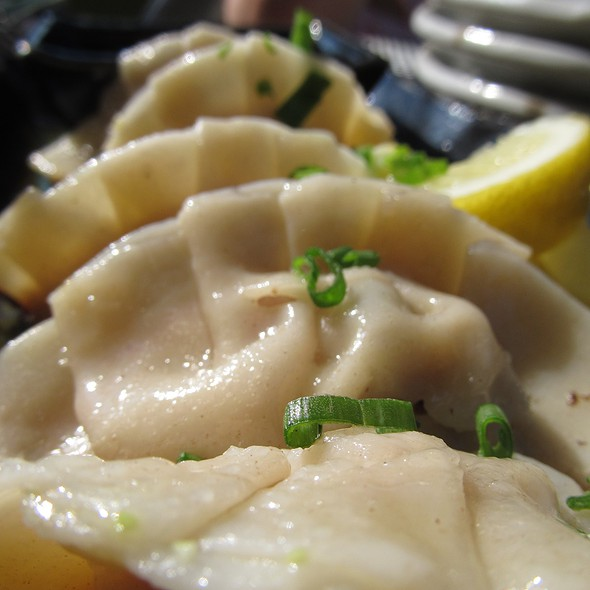 Ginger Duck Gyoza