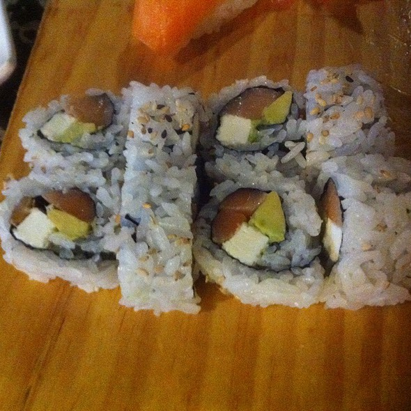 Philly Roll @ Sakura Japanese Steakhouse & Sushi Bar