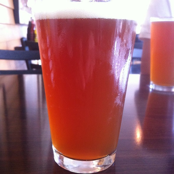 Mac And Jack's African Amber Beer @ Campbell's Bistro & Pub