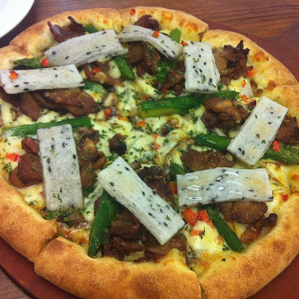 Tteok Galbi Pizza @ Mr. Pizza