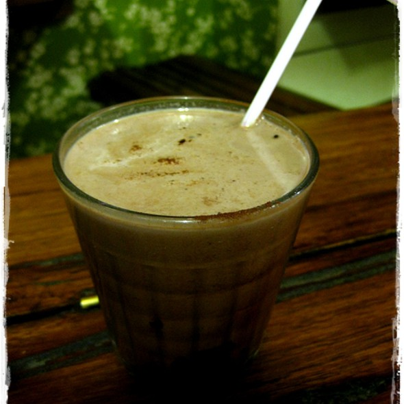 Chocolate Milk @ Switchboard Cafe