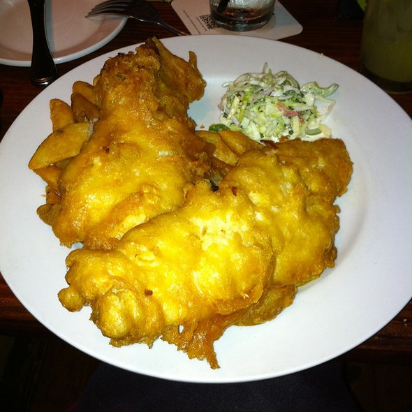 Fish and Chips @ Fado Irish Pub