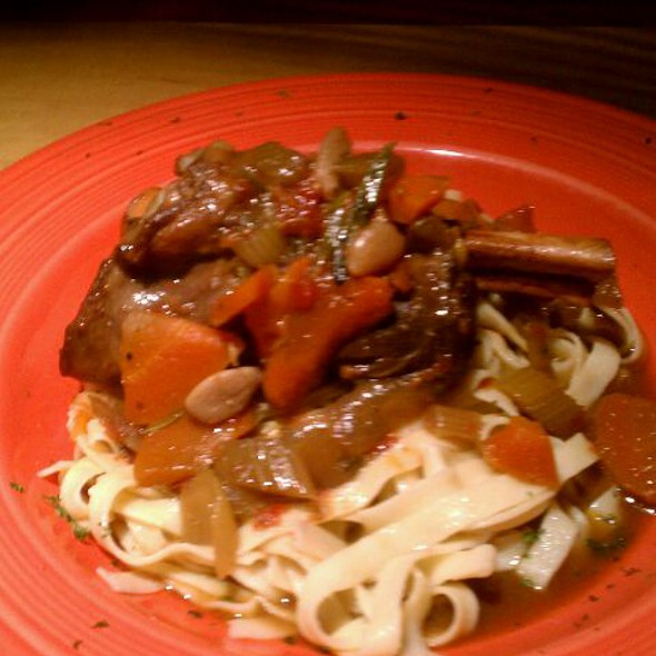 Lamb Shank - Noodles Italian Cafe & Sushi Bar, Naples, FL