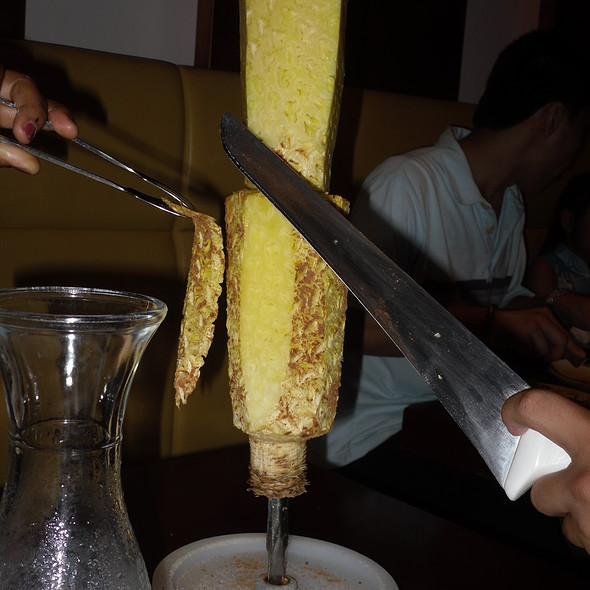 Grilled Pineapple @ Travesso Grill (Brazilian BBQ)