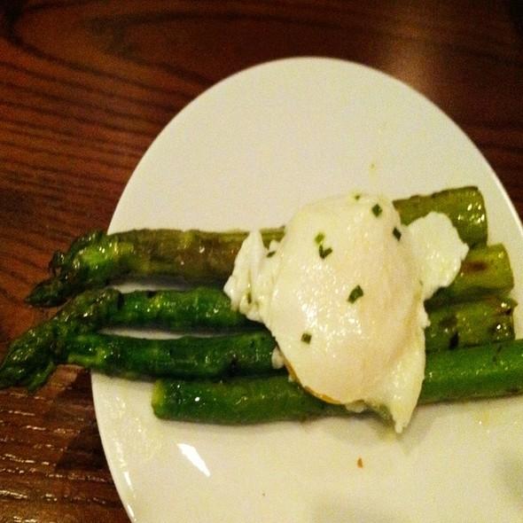 Asparagus & Poached Eggs - E&E Grill House, New York, NY