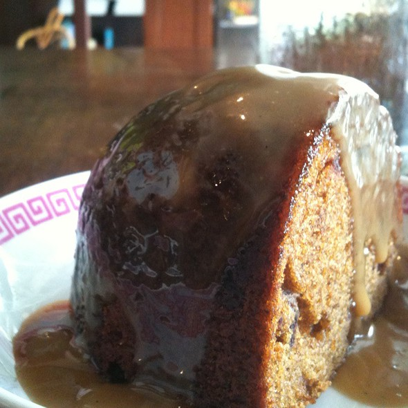 Sticky Date Pudding @ Cafe Epicurious