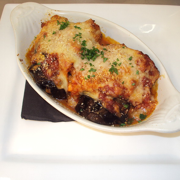 Aubergine Roulade @ St. Mary's Country Inn,