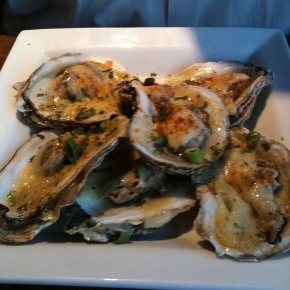 Grilled Oysters @ TruOrleans Restaurant & Gallery