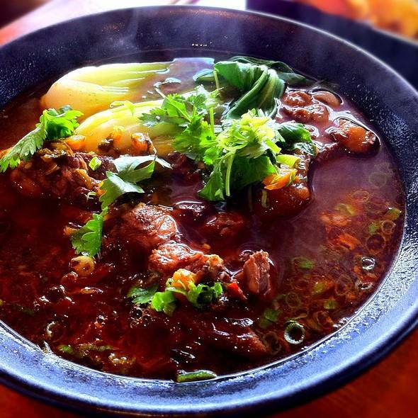 Spicy Beef Noodle Soup @ Ajisen