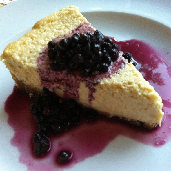 Blueberry Cheesecake @ Quartier Général