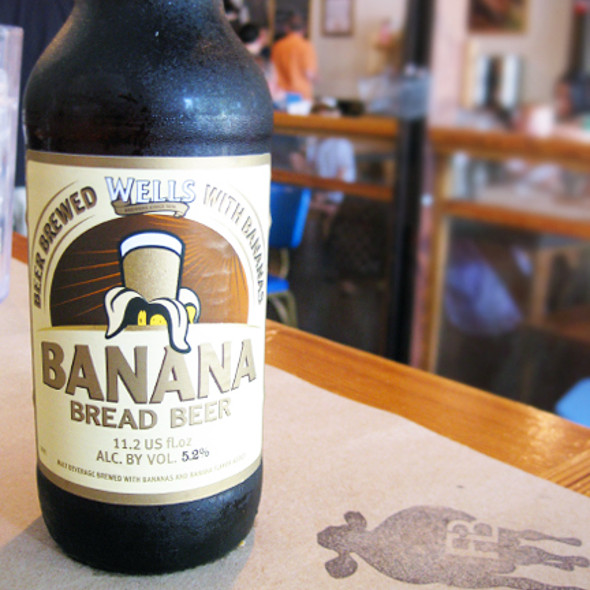 Banana Bread Beer @ FARM BURGER