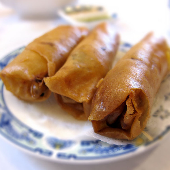 Deep Fried Spring Roll @ Ton Kiang