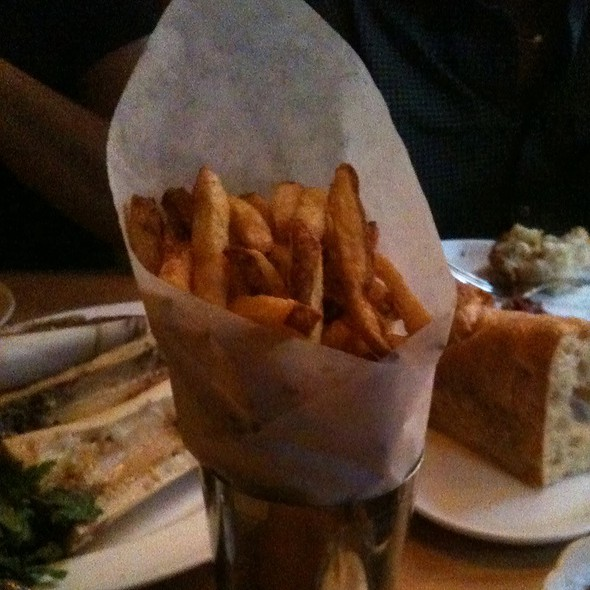 Fries @ Gilt Bar