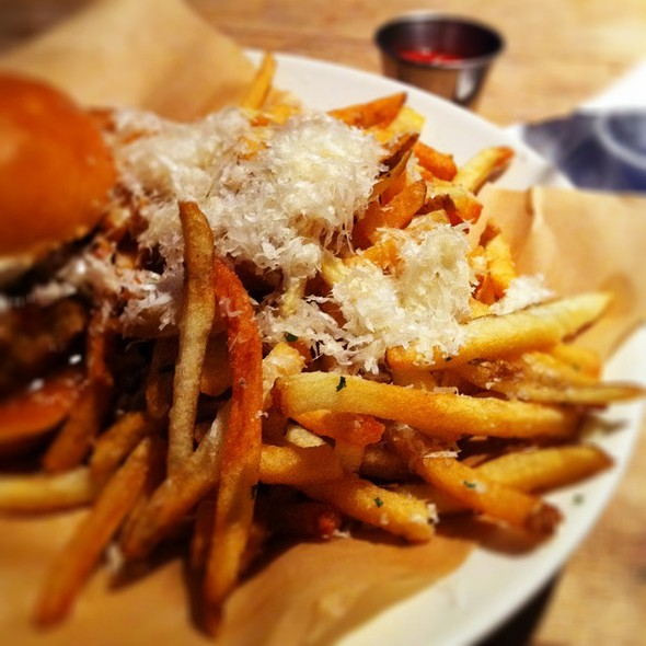 Truffle Parmesan Fries - JCT Kitchen and Bar, Atlanta, GA