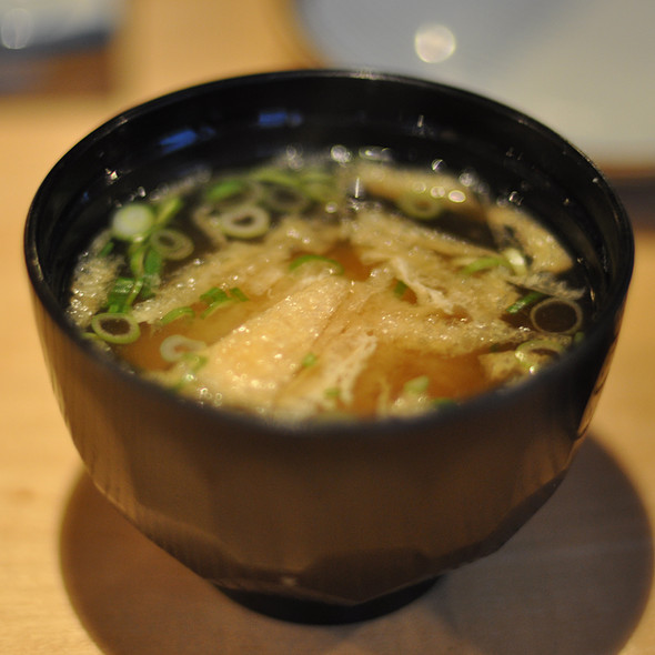 Miso Soup @ Toshi Sushi