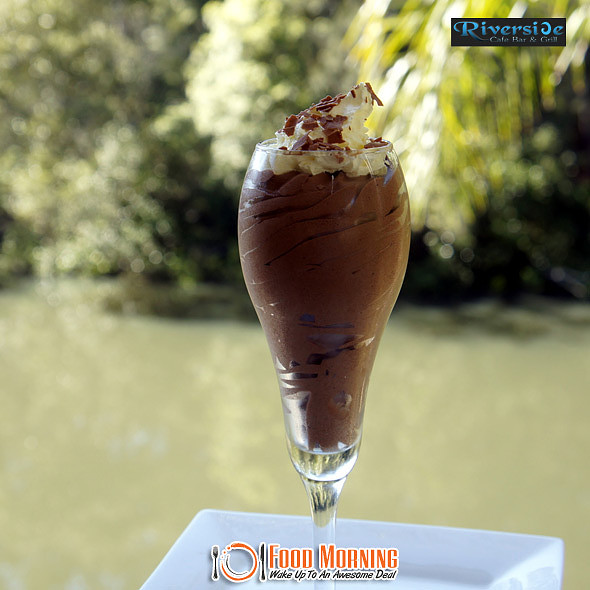 Chocolate Mousse @ Riverside Cafe Bar & Grill