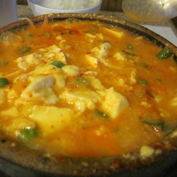 Vegetable Tofu Soup @ Kaju Tofu Restaurant
