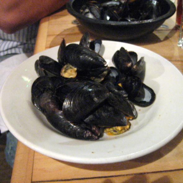Mussels @ Bertha's Dining Room