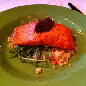 Catch Of The Day - Pan Seared Salmon