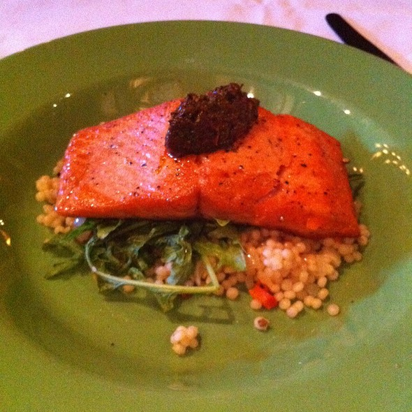 Catch Of The Day - Pan Seared Salmon - 800 Wilfs Restaurant & Bar, Portland, OR