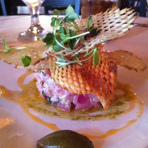 Tuna Tar Tar - Twisted Vine Bistro, Fort Myers, FL