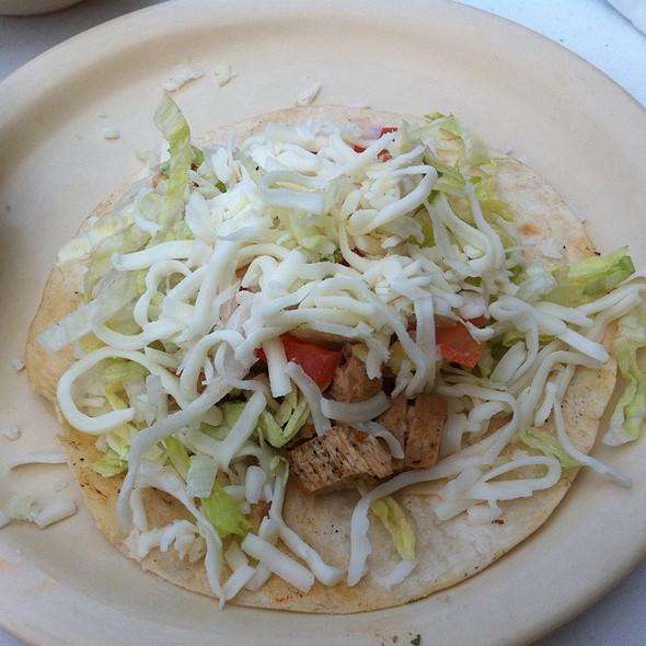 Chicken Taco Americano