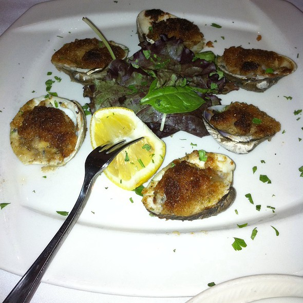 Baked Clams Oreganata