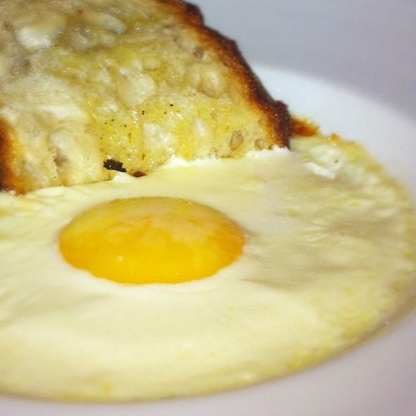 Farm Egg Baked In Celery Cream