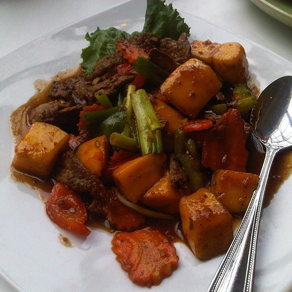 Beef Mango @ Koh Samui & the Monkey