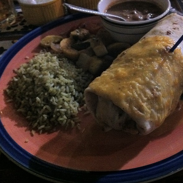 Texas Burrito @ Riverwalk Cantina