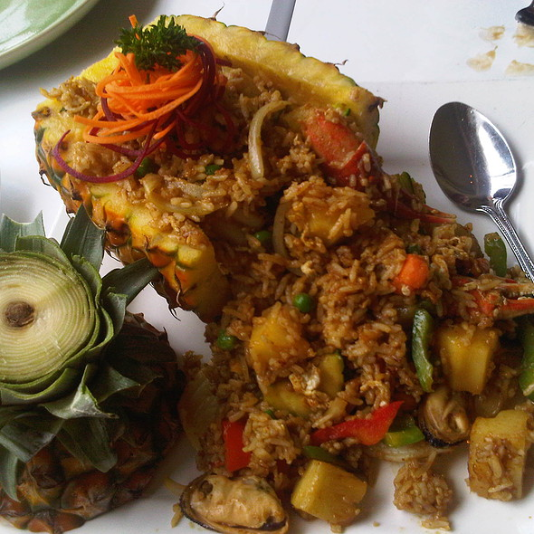 Volcano Fried Rice - Koh Samui & The Monkey, San Francisco, CA