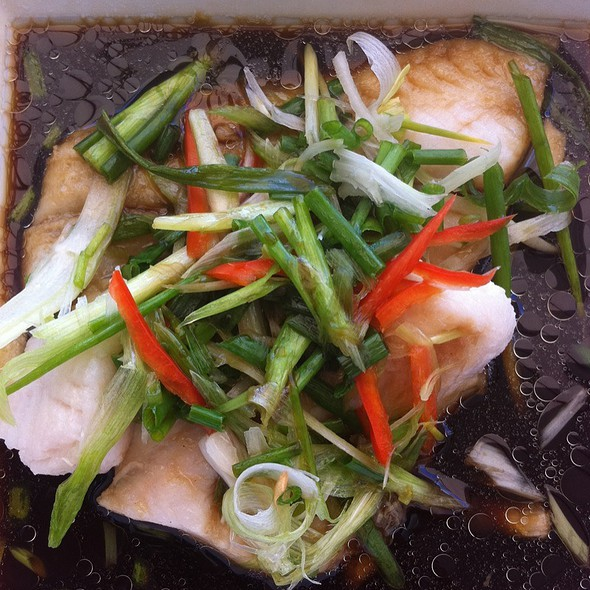 White Snapper In Soy Sauce - Thai Style
