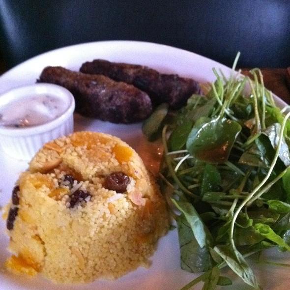 Lamb Kafta & Couscous @ The Black Horse Gastropub