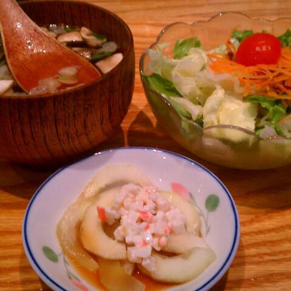 Clear Broth @ Sansui Sushi Bar & Grill