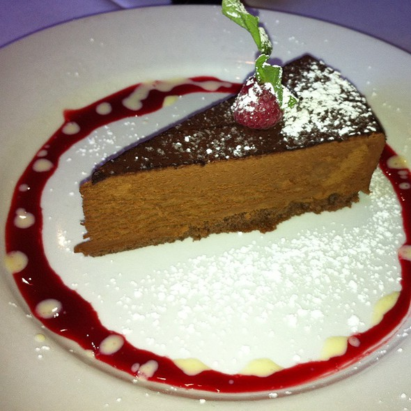 Chocolate Mousse Cake - Les Folies Brasserie, Annapolis, MD