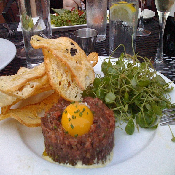 Beef Tartare With Micro Greens - b, A Bolton Hill Bistro, Baltimore, MD
