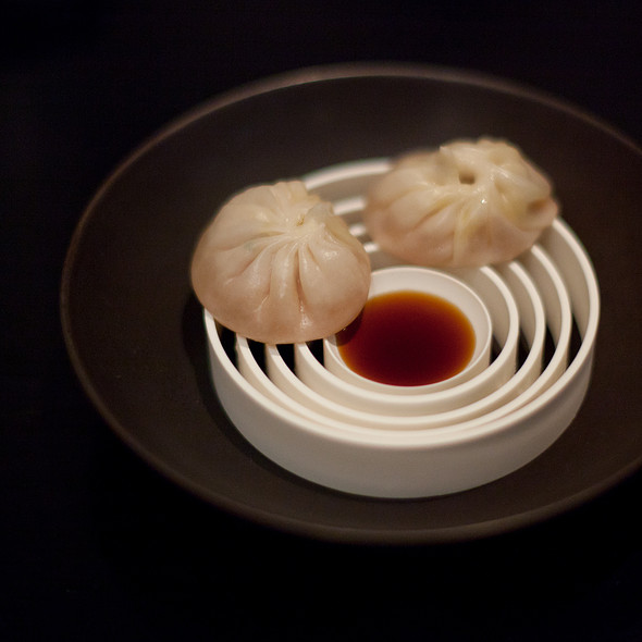 Foie Gras Xiao Long Bao - Benu, San Francisco, CA