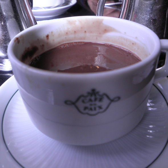 Hot Chocolate @ Café de la Paix