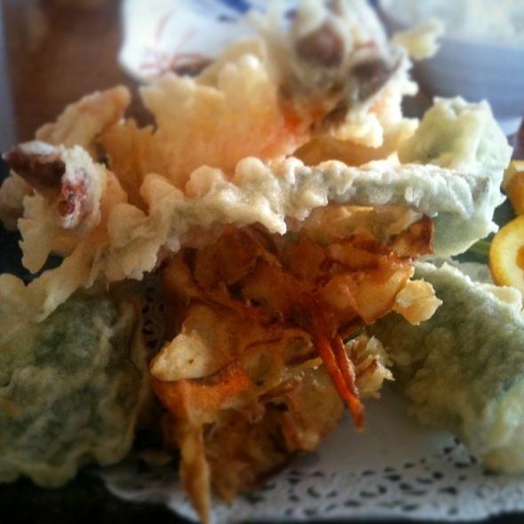 Assorted Tempura @ Banzai Sushi