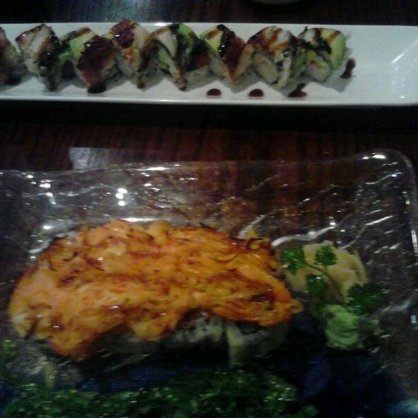 Volcano Roll! @ Ginza Japanese Restaurant