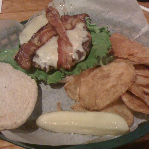 Bacon Cheeseburger @ Generations Restaurant & Pub
